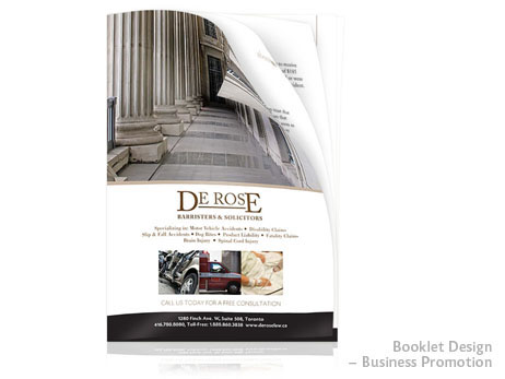 Print Design - Promotional booklet