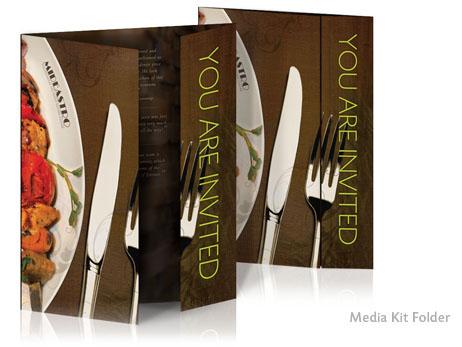 Print Design - Media kit folder