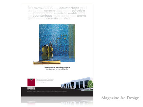 Print Design - Magazine Ad Design