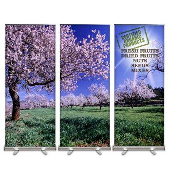 Organic Select Banner Display