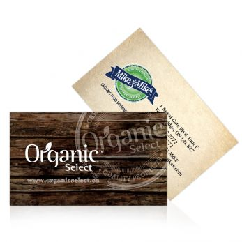 Organic Select Business Card