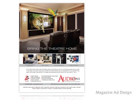 Print Design - Magazine ad