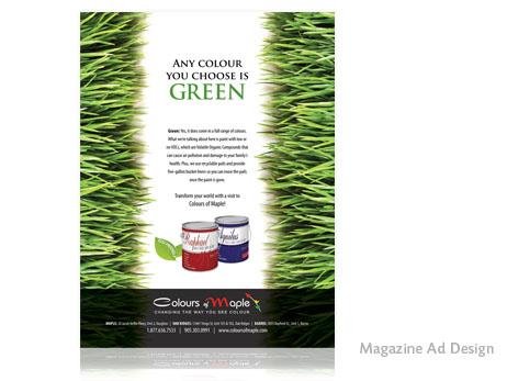 Print Design - Ad design