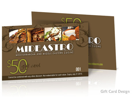 Print Design - Gift card