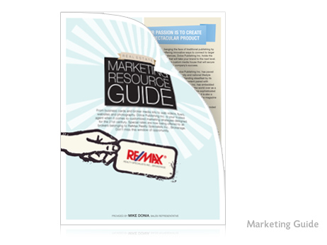 The company was in need of a marketing resource guide that was as informative as it was eye-catching. The Print Design Store came up with this attractive layout, which proved to be a highly successful tool.