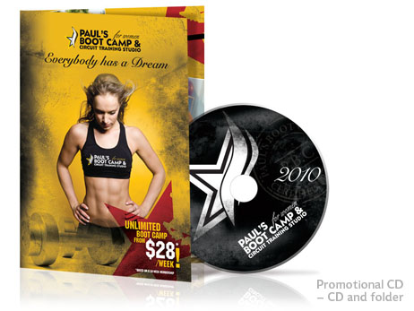 Print Design - Promotional CD and folder