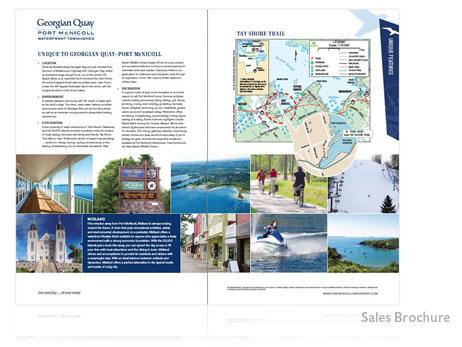 Print Design - Real Estate Sales Brochure