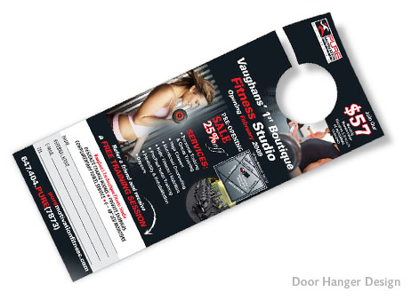 Print Design - Door Hanger