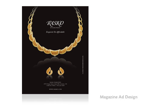 Print Design - Rasko Diamonds
