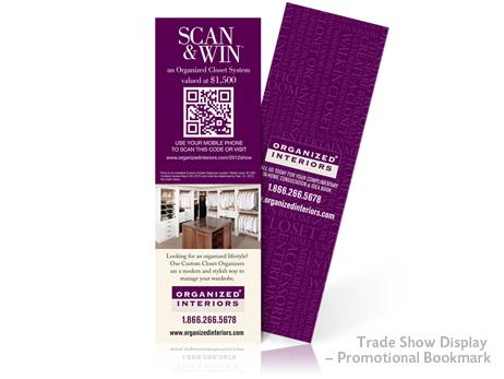 Print Design - Promotional Bookmark